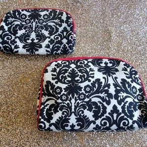2 piece cosmetic bags